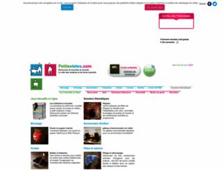petitestetes.com screenshot