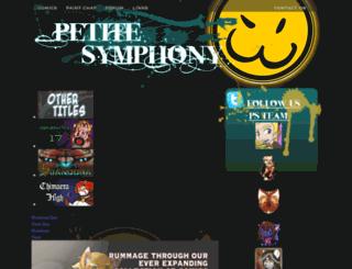 petitesymphony.com screenshot