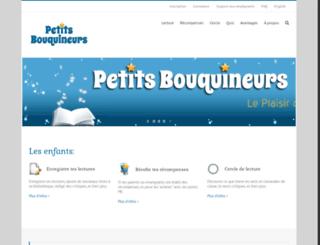 petitsbouquineurs.com screenshot