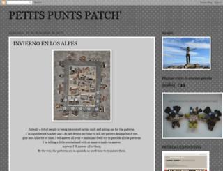 petitspuntspatch.blogspot.com screenshot