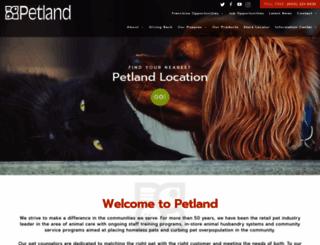 petland.com screenshot