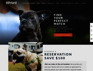 petlandflorida.com screenshot