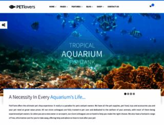 petlovers.themeplayers.net screenshot
