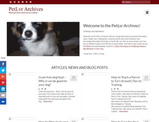 petlvr.com screenshot
