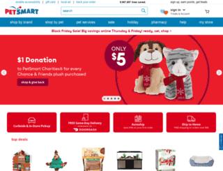 petmart.com screenshot