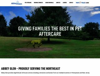 petmemorialservices.com screenshot