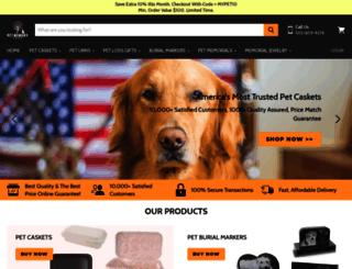 petmemoryshop.com screenshot