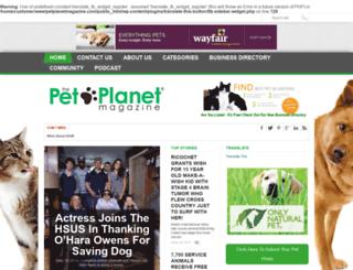 petplanetmagazine.com screenshot