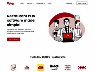 petpooja.com screenshot