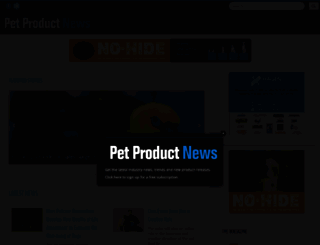 petproductnews.com screenshot