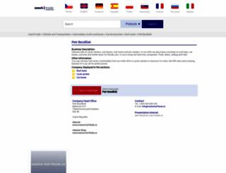 petr-bezdicek.czechtrade.us screenshot