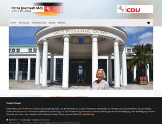 petra-joumaah.de screenshot