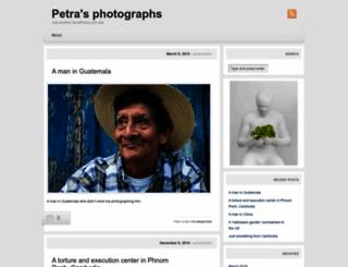 petra365.wordpress.com screenshot