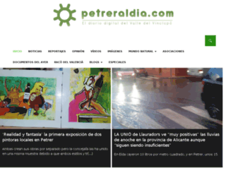 petreraldia.com screenshot