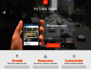 petrichor-wp.webfactoryltd.com screenshot
