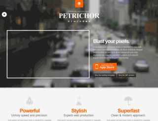 petrichor.webfactoryltd.com screenshot
