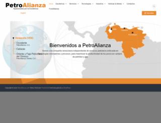 petroalianza.com screenshot