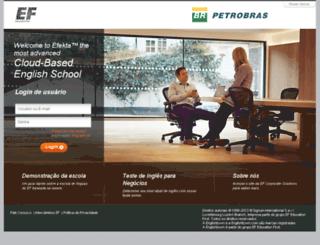 petrobras.englishtown.com screenshot