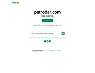 petrodar.com screenshot