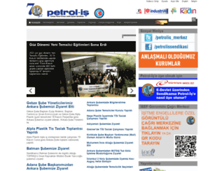 petrol-is.org.tr screenshot