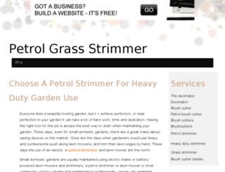petrol-strimmer.bravesites.com screenshot