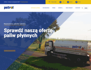 petrol.pl screenshot