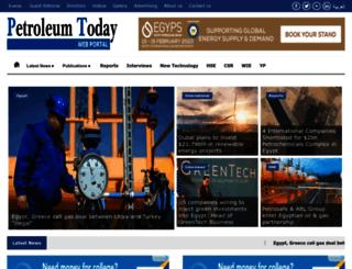 petroleum-today.com screenshot