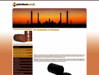 petroleum.co.uk screenshot