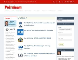 petroleum.com.ve screenshot