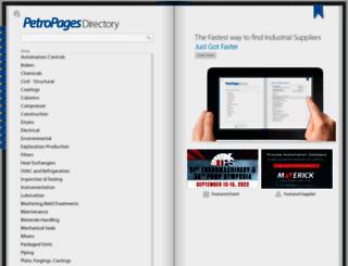 petropages.directory screenshot