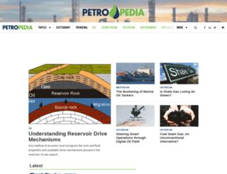 petropedia.com screenshot