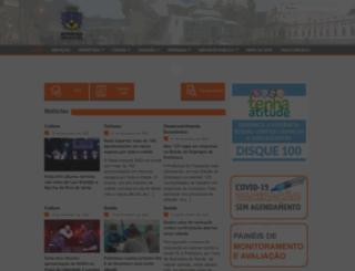 petropolis.rj.gov.br screenshot