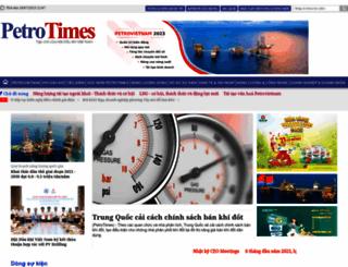 petrotimes.vn screenshot