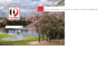 petrotrin.com screenshot