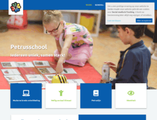 petrusschool.nu screenshot