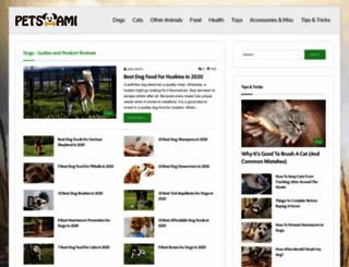 petsami.com screenshot