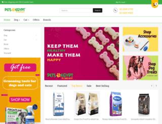 petshopegypt.com screenshot