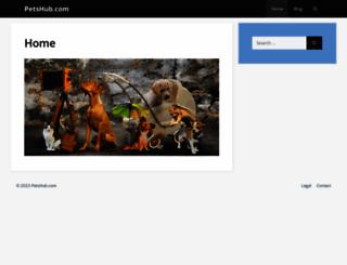 petshub.com screenshot