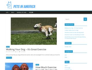 petsinamerica.net screenshot