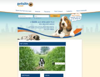 petsitebrasil.com.br screenshot