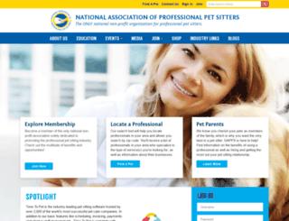 petsitters.org screenshot