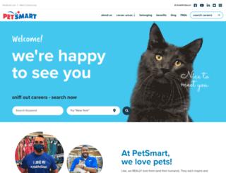 petsmartjobs.com screenshot