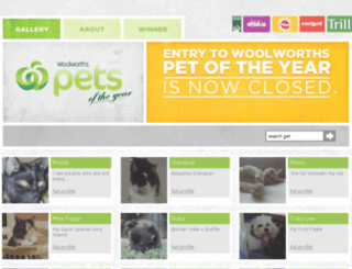 petsoftheyear.com.au screenshot