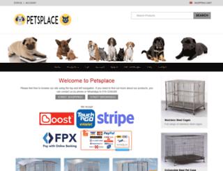 petsplace.com.my screenshot