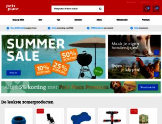 petsplace.nl screenshot