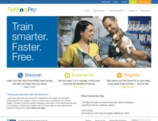 petstorepro.latitudelearning.com screenshot