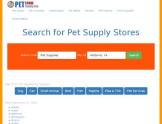 petstoresupply.org screenshot