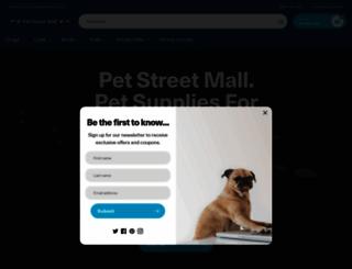petstreetmall.com screenshot