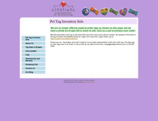 pettagcreations.com screenshot