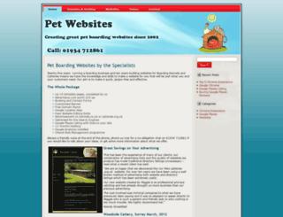 petwebsites.org.uk screenshot